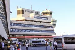 Aeropuerto internacional de Tegel Fotografía de archivo
