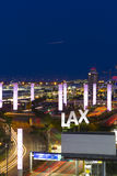 Aeropuerto internacional del LA foto de archivo