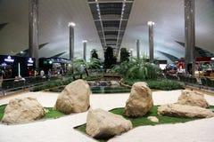 Aeropuerto internacional en Dubai Fotos de archivo