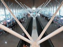 Aeropuerto, JAN17 2017 Fotografía de archivo libre de regalías