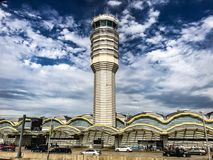 Aeropuerto nacional de Reagan en Washington DC Imagen de archivo libre de regalías