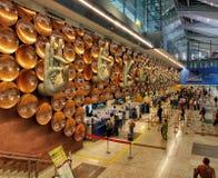 Aeropuerto Nueva Deli de IGI fotografía de archivo libre de regalías