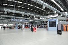 Aeropuerto Praga de Vaclav Havel Foto de archivo