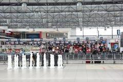 Aeropuerto Praga de Vaclav Havel Imagenes de archivo