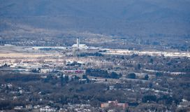 """Aeropuerto regional de Blacksburg del †de Roanoke """" fotos de archivo"""