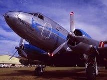 Aeropuerto rico del ¼ de ZÃ: Un airplaine del Oldtimer del DC-10 de South African Airways fotografía de archivo