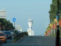 Aeropuerto Sanya, Sanya, Haynan, China fotografía de archivo libre de regalías