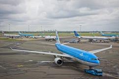 Aeropuerto Schiphol de Amsterdam Imagen de archivo libre de regalías
