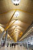 Aeropuerto T4 de Madrid Barajas Imagen de archivo