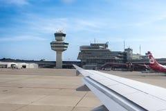 Aeropuerto Tegel Berlín Fotos de archivo libres de regalías