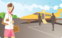 Aeropuerto VIP libre illustration