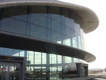 Aeropuerto Walencja Obrazy Stock