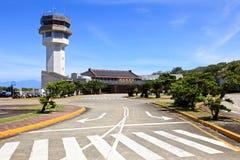 Aeropuertos en la isla verde, Taiwán fotografía de archivo