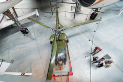 Aeroscopia博物馆,在图卢兹附近,南法国 免版税图库摄影