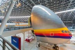 Aeroscopia博物馆,在图卢兹附近,南法国 库存图片