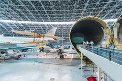 Aeroscopia-Museum, nahe Toulouse, Süd-Frankreich Lizenzfreie Stockfotos
