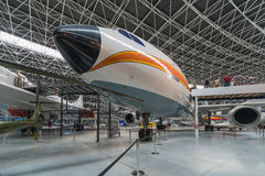 Aeroscopia-Museum, nahe Toulouse, Süd-Frankreich Lizenzfreies Stockfoto