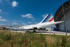 Aeroscopia-Museum, nahe Toulouse, Süd-Frankreich Lizenzfreies Stockbild