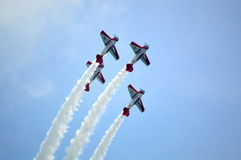 Aeroshell at Thunder Over Louisville Airshow Stock Photos