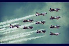 Aeroshow Baneasa Rumänien Lizenzfreies Stockbild
