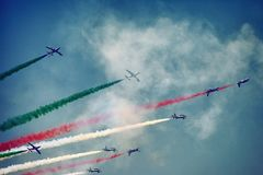 Aeroshow Baneasa Rumänien Stockfoto