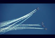 Aeroshow Baneasa Rumänien Lizenzfreies Stockfoto