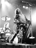Aerosmith在波士顿庭院,波士顿,由埃里克L的麻省执行1994年12月 约翰逊摄影 免版税图库摄影