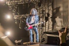 Aerosmith在莫斯科2015年9月 库存图片