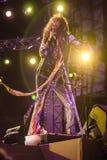 Aerosmith在莫斯科2015年9月 库存照片