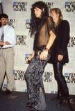 Aerosmith ai premi di musica di MTV fotografia stock