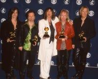 Aerosmith au Grammy Awards image libre de droits