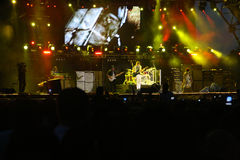 Aerosmith concert Stock Photos