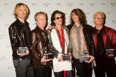 Aerosmith en 2001 premios de la música del americano Imagen de archivo libre de regalías