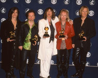 Aerosmith am Grammy Awards Lizenzfreies Stockbild
