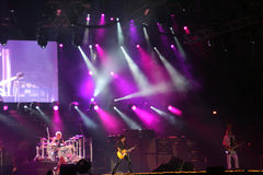 Aerosmith Konzert Stockfotografie