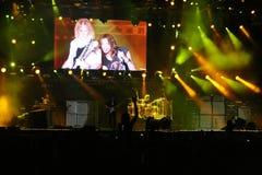Aerosmith Konzert Lizenzfreies Stockfoto