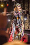 Aerosmith in Moskau im September 2015 Stockfotos