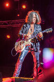 Aerosmith in Moskau im September 2015 Lizenzfreie Stockbilder