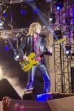 Aerosmith in Moskou September 2015 Stock Fotografie