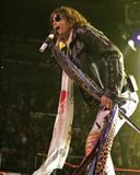 Aerosmith performs in concert royalty free stock photo