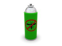 Aerosol anti del mosquito libre illustration