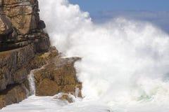 Aerosol de una onda de fractura Foto de archivo libre de regalías