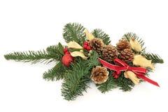Aerosol decorativo de la Navidad Foto de archivo libre de regalías