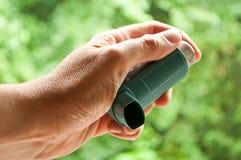 Aerosol di asma Fotografia Stock Libera da Diritti