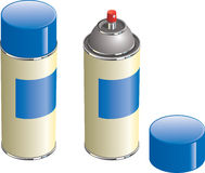 aerosol może target2092_0_ ilustracja wektor