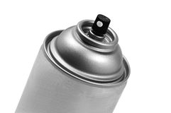 Aerosol Spray Can. Aerosol spray for paints and industruial uses royalty free stock images