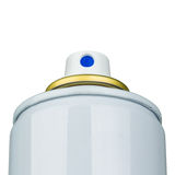 Aerosol valve actuator Royalty Free Stock Photo