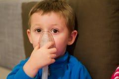 Aerosoltherapie Lizenzfreies Stockbild