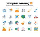 Aerospace und Astronomie lizenzfreie abbildung