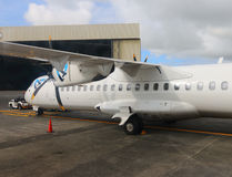 Aerospatiale, Alenia ATR 72 Air Austral/ Obraz Stock